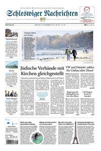 Schleswiger Nachrichten - 09. November 2018
