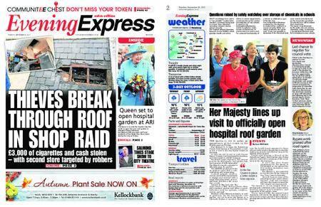 Evening Express – September 26, 2017