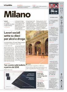 la Repubblica Milano - 22 Novembre 2017