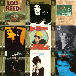 Lou Reed - 9 Album Collection (1972-76) [9CD] {2006 Japan Mini LP Remaster} - Repost