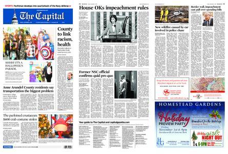 The Capital – November 01, 2019