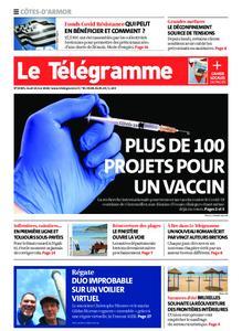 Le Télégramme Guingamp – 14 mai 2020