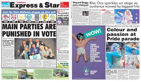 Express and Star Sandwell Edition – May 27, 2019