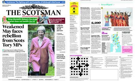 The Scotsman – October 22, 2018