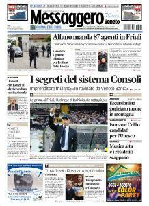Il Messaggero Veneto - 4 Agosto 2016