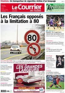 Le Courrier de l'Ouest Angers - 09 mai 2018