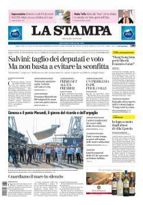 La Stampa Torino Provincia e Canavese - 14 Agosto 2019