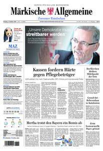 Märkische Allgemeine Zossener Rundschau - 02. Oktober 2017