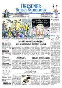 Dresdner Neueste Nachrichten - 16. Juli 2018