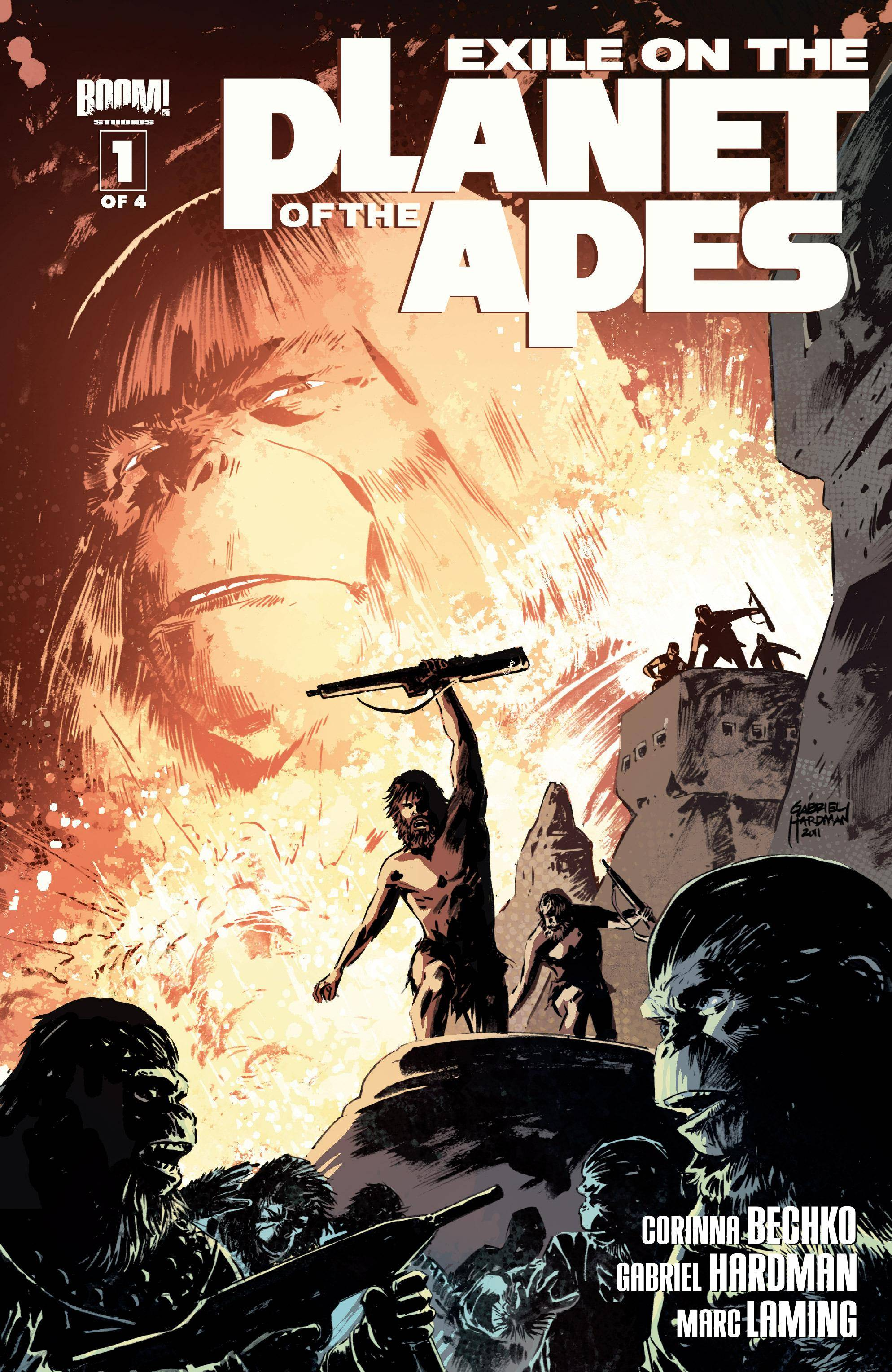 Exile on the Planet of the Apes 01 of 04 2012 3 covers digital
