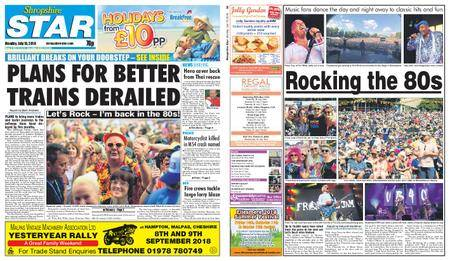 Shropshire Star Shrewsbury Edition – July 16, 2018
