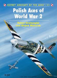 Polish Aces of World War 2 (Osprey Aircraft of the Aces 21)