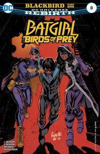 Batgirl  the Birds of Prey 008 2017 2 covers Digital Zone-Empire