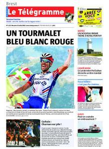 Le Télégramme Landerneau - Lesneven – 21 juillet 2019
