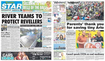 Shropshire Star Shrewsbury Edition – December 16, 2017