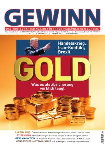 Gewinn - September 2019