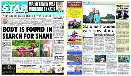 Shropshire Star Shrewsbury Edition – September 07, 2017