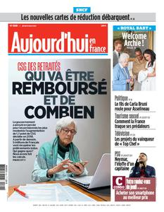 Aujourd'hui en France – 09 mai 2019
