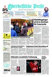 Oberhessische Presse Marburg/Ostkreis - 27. Oktober 2017