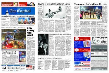 The Capital – January 25, 2018