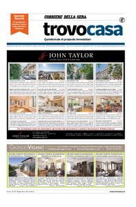 Corriere della Sera Trovo Casa – 25 ottobre 2018