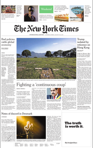 International New York Times - 17 August 2019