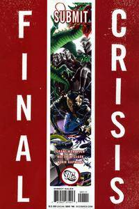 Final Crisis - Submit (both covers) (2008)