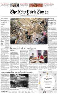 International New York Times - 7 August 2020