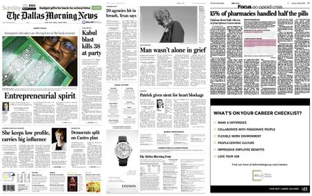 The Dallas Morning News – August 18, 2019