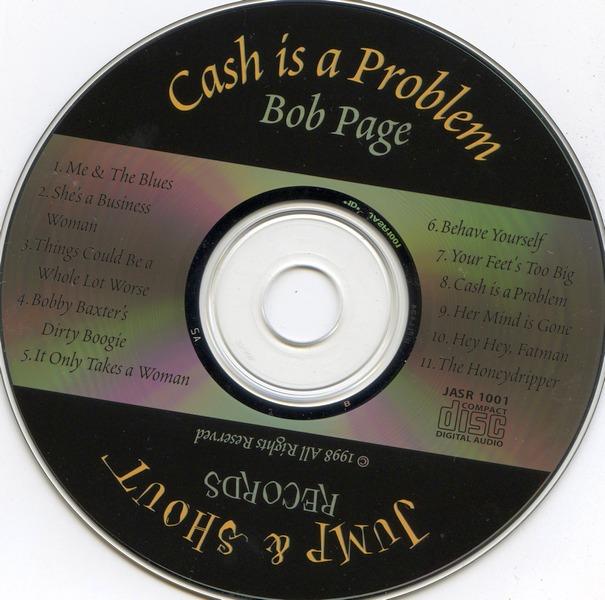 Bob Page - Cash Is A Problem (2000)