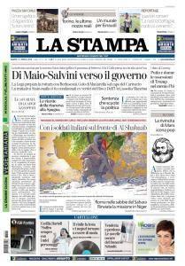 La Stampa Torino Provincia e Canavese - 21 Aprile 2018