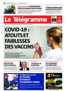 Le Télégramme Landerneau - Lesneven – 22 février 2021