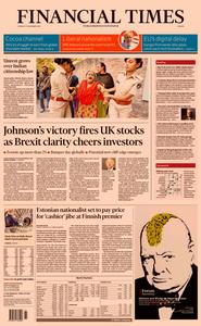 Financial Times Europe – 17 December 2019