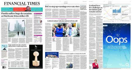 Financial Times UK – September 11, 2017