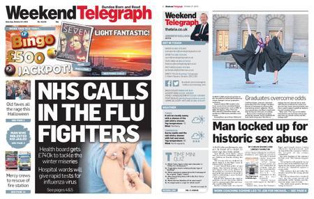Evening Telegraph First Edition – October 27, 2018