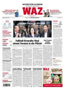 WAZ Westdeutsche Allgemeine Zeitung Oberhausen-Sterkrade - 23. April 2018