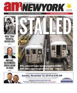 AM New York - November 08, 2019