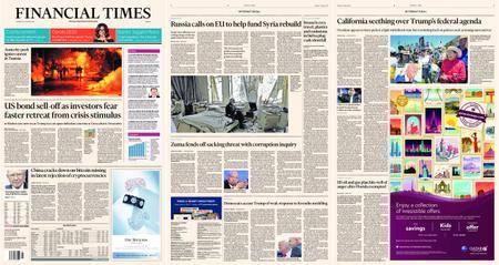 Financial Times Europe – 11 January 2018