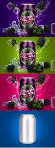 CreativeMarket - Tin Can Blackberry Mockup - 3756868