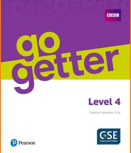 ENGLISH COURSE • Go Getter • Level 4 (2018)