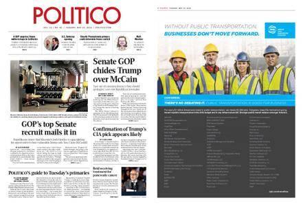 Politico – May 15, 2018