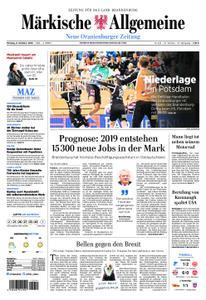 Neue Oranienburger Zeitung - 08. Oktober 2018