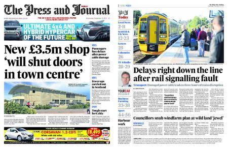 The Press and Journal Moray – September 13, 2017