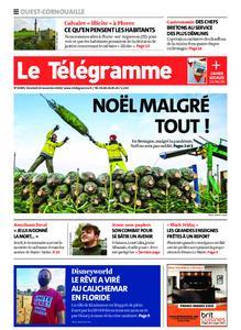 Le Télégramme Ouest Cornouaille – 20 novembre 2020