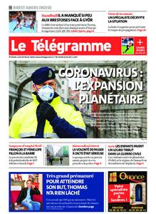 Le Télégramme Brest Abers Iroise – 24 février 2020