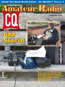 CQ Amateur Radio - February 2016
