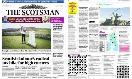 The Scotsman – January 30, 2018