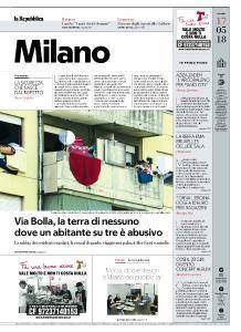 la Repubblica Milano - 17 Maggio 2018