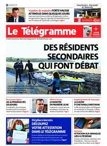 Le Télégramme Brest Abers Iroise – 19 mars 2020