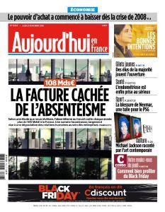 Aujourd'hui en France du Jeudi 22 Novembre 2018